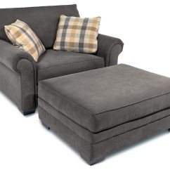 Big Chair With Ottoman For Gaming Oxford Traditional Rolled Arms Rotmans A Half Simple Elegance Oxfordtraditional