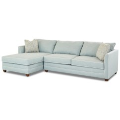 Klaussner Sleeper Sofa Mattress Options 2 Seater And Matching Chair Tilly Two Piece Sectional With Raf Enso Memory Foam Dunk Bright Furniture Sofas