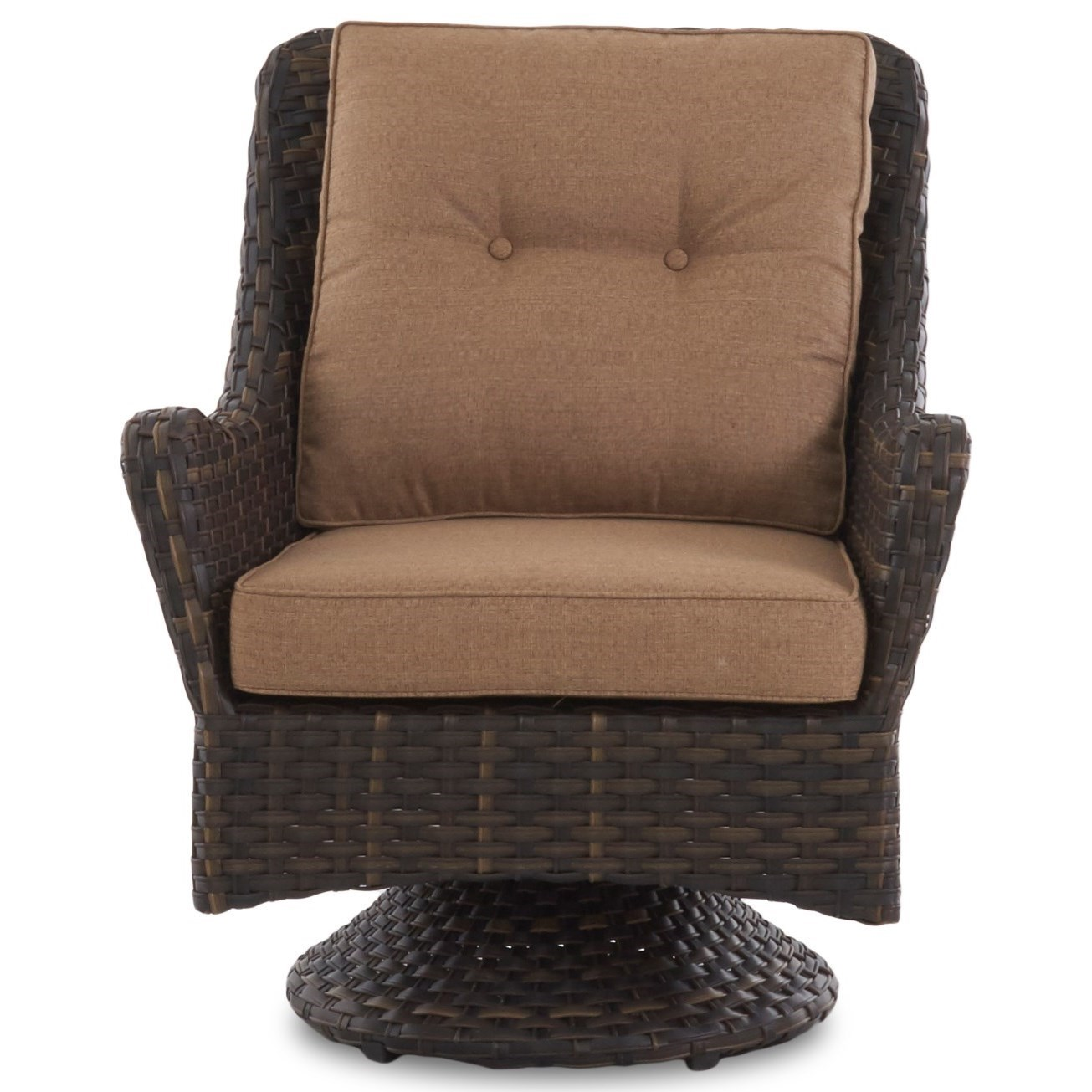 Swivel Rocking Chairs Bayley Outdoor Swivel Rocking Chair With Reversible Cushions By Klaussner Outdoor At Pilgrim Furniture City