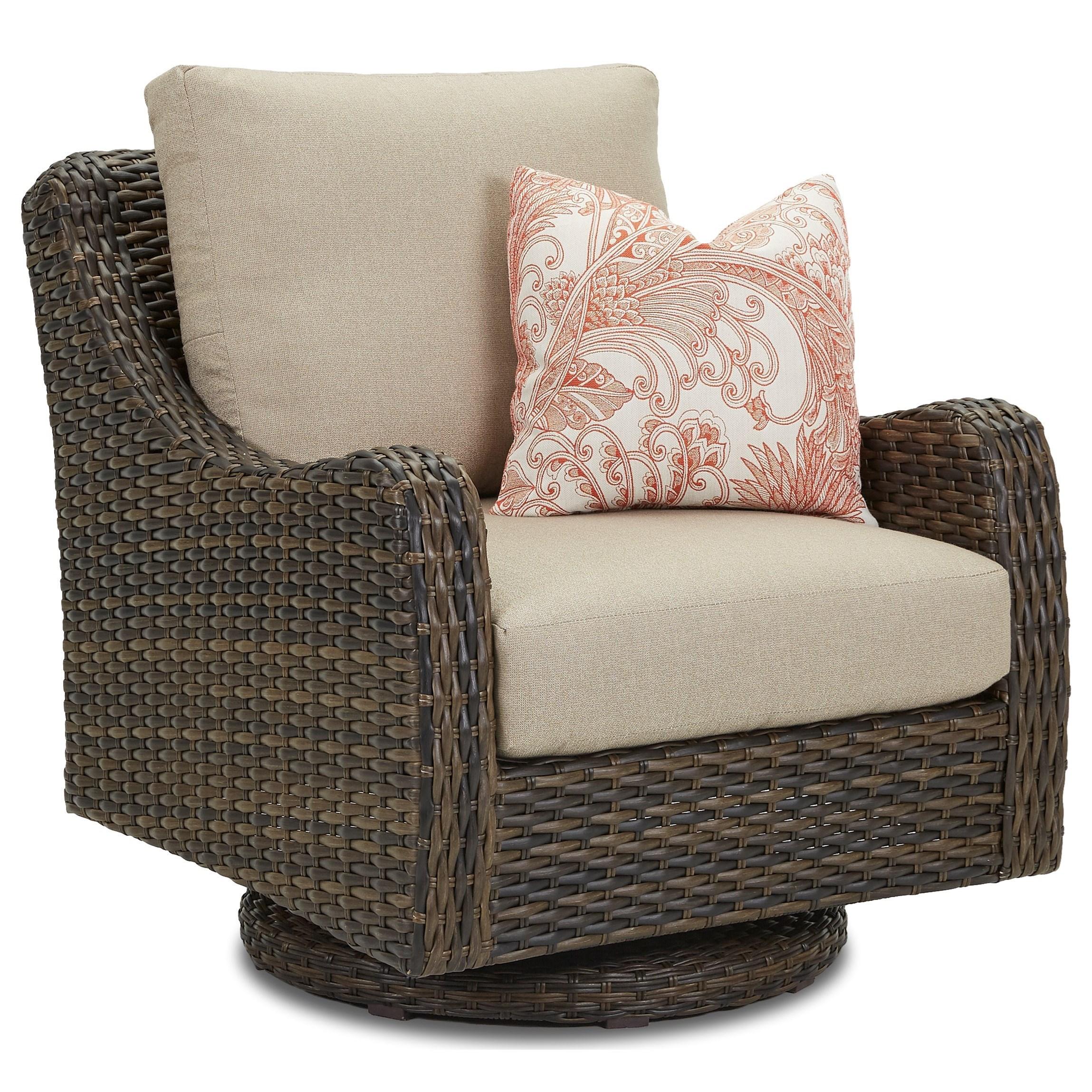 outdoor swivel rocker chair lifetime adirondack gray klaussner mesa w7502 srcdr with mesaswivel drainable cushion
