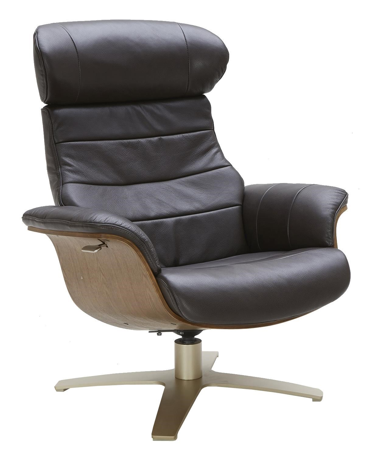 Evolution Chair Karma Leather Lean Back Swivel Chair By Urban Evolution At Belfort Furniture