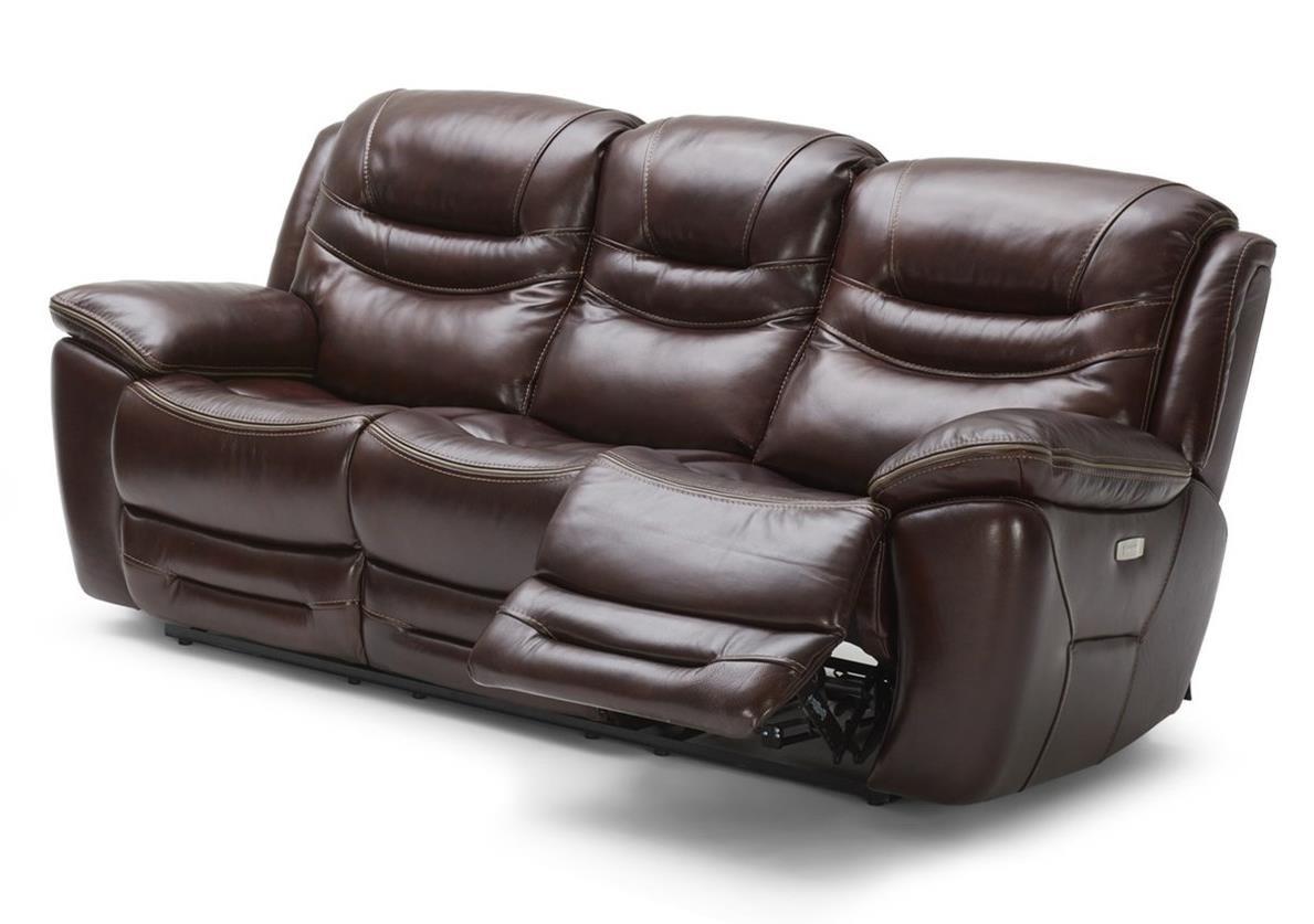 Kuka Sectional Furniture Kuka Kofi Power Reclining Leather