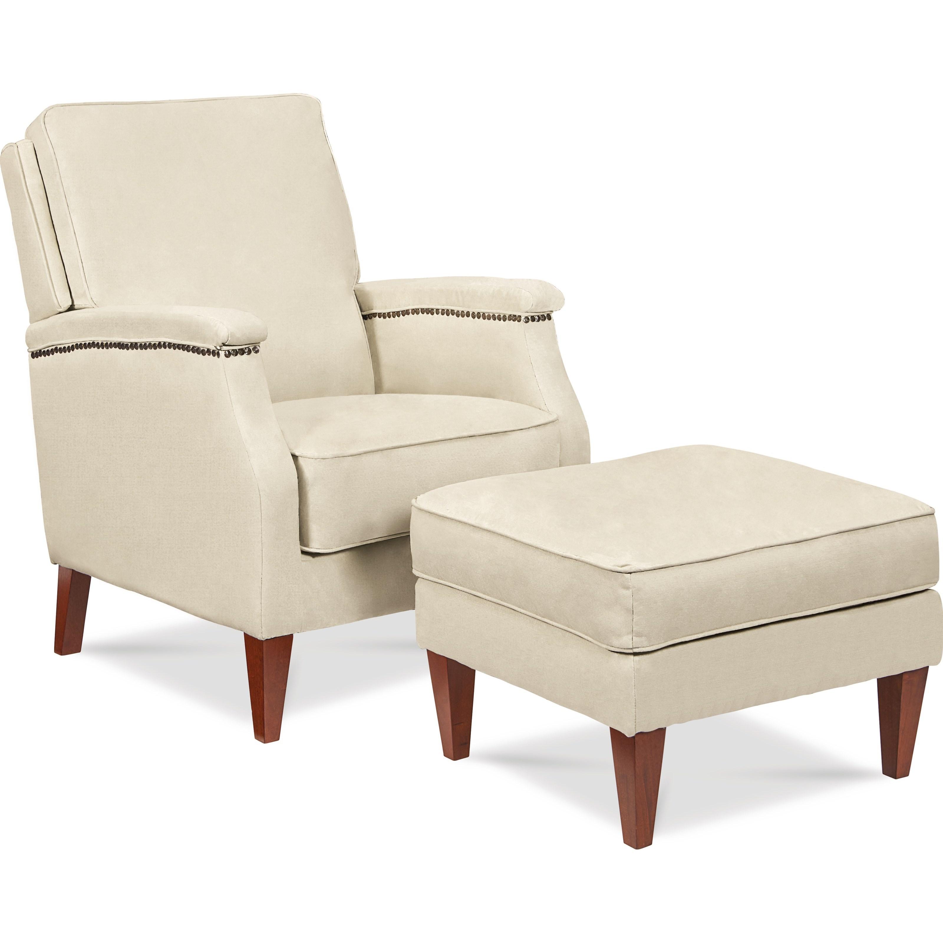 recliner vs chair with ottoman white ceremony chairs la z boy cambridge press back conlin s