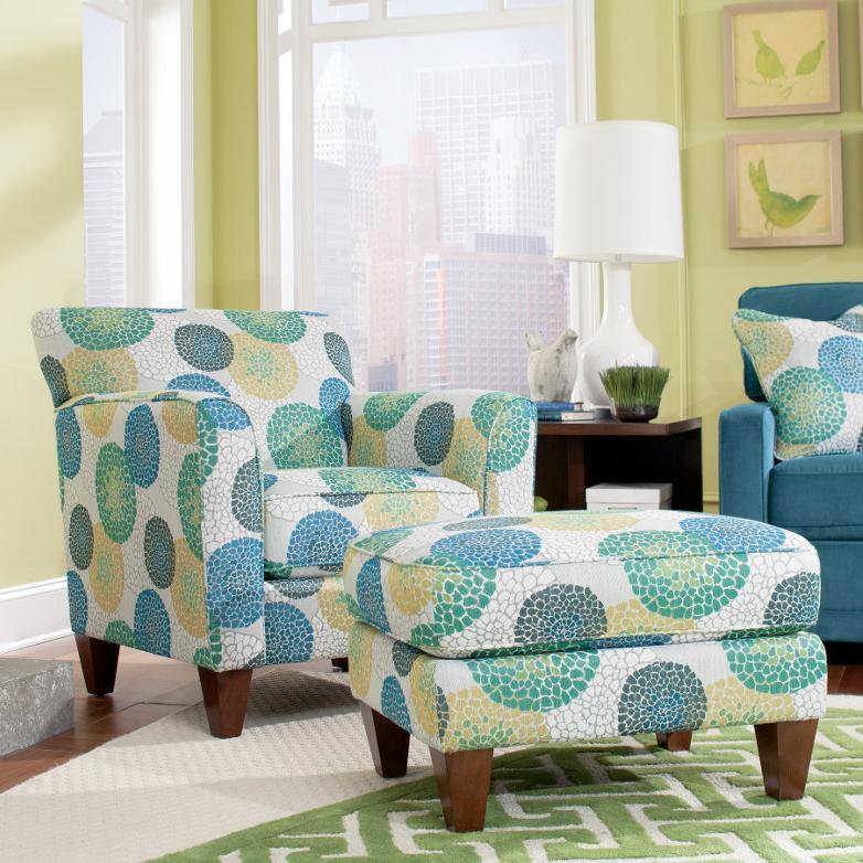 LaZBoy Chairs Allegra Chair  Ottoman Set  Rotmans