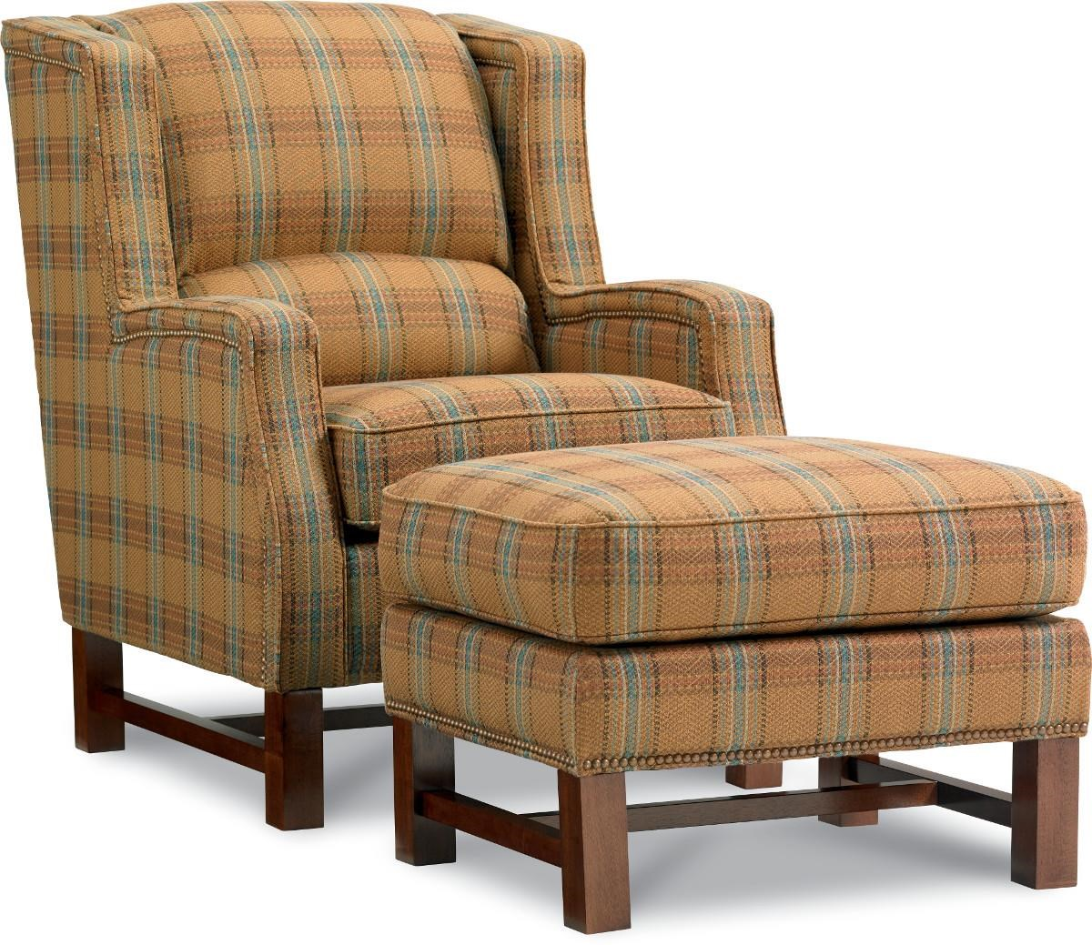 Boys Chair La Z Boy Chairs Cosmopolitan Transitional Wing Chair And Ottoman