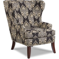 Wing Chairs For Living Room Hanging Chair Outdoor Ikea La Z Boy Moscato With Nailhead Trim Morris Home By