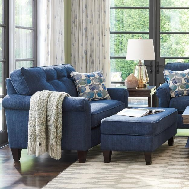 Oversized Chair And Ottoman Set La Z Boy Laurel Oversized Chair And Ottoman Set Conlin S