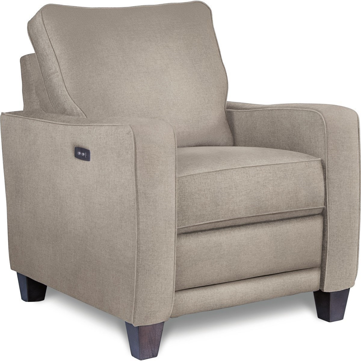 lazy boy recliner chair white dining la z makenna duo power reclining with usb charging port by