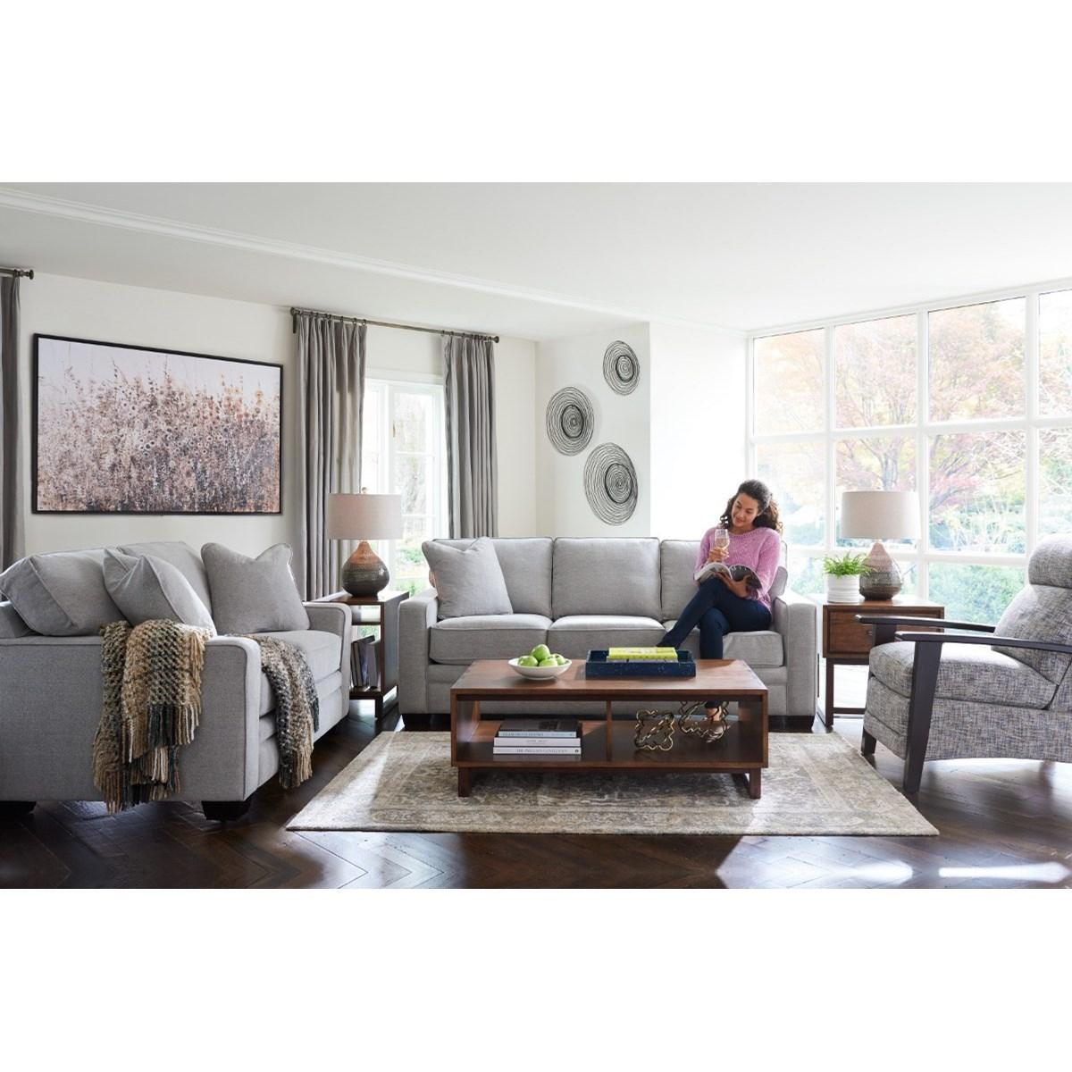 la z boy meyer contemporary sofa with