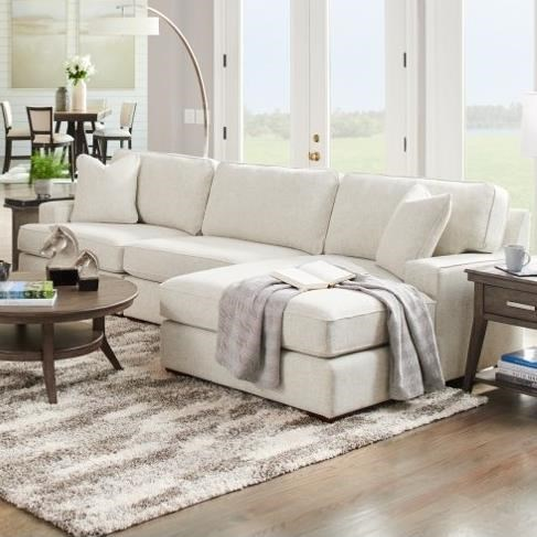 la z boy paxton 3 seat chaise sectional