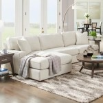 La Z Boy Paxton 3 Seat Chaise Sectional With Wide Chaise And Comfort Core Cushions Godby Home Furnishings Sectional Sofas