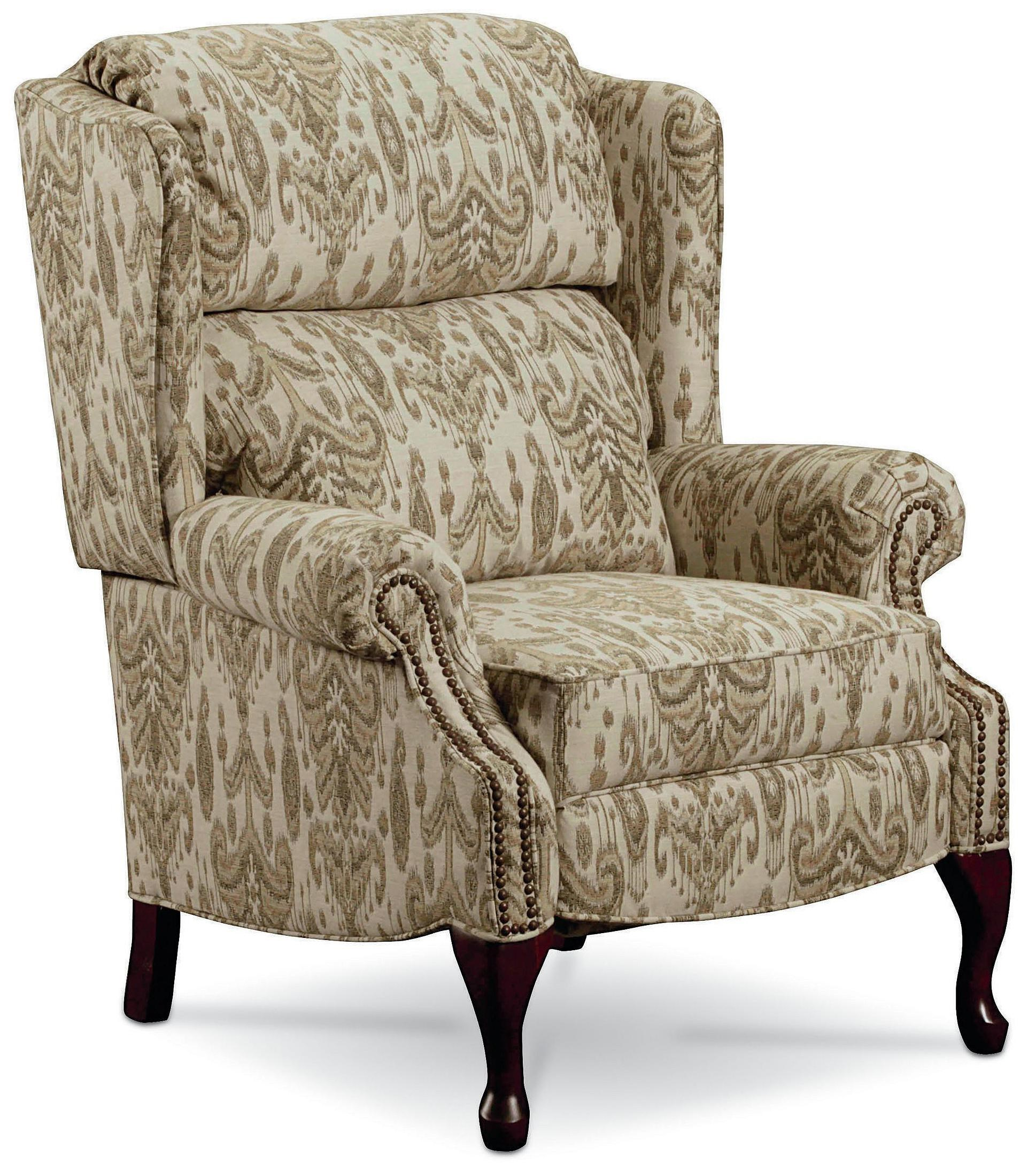 Wingback Recliner Chair Hi Leg Recliners Savannah High Leg Wing Back Recliner By Lane At Rune S Furniture