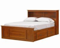 Lang Bayfield King Bookcase Captains Bed - Colder's ...