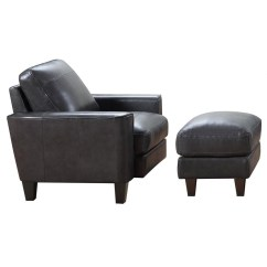 Leather Chair Ottoman Set Tables With Chairs Inside Italia Usa Georgetown Chino Contemporary And Fashion Furniture Sets