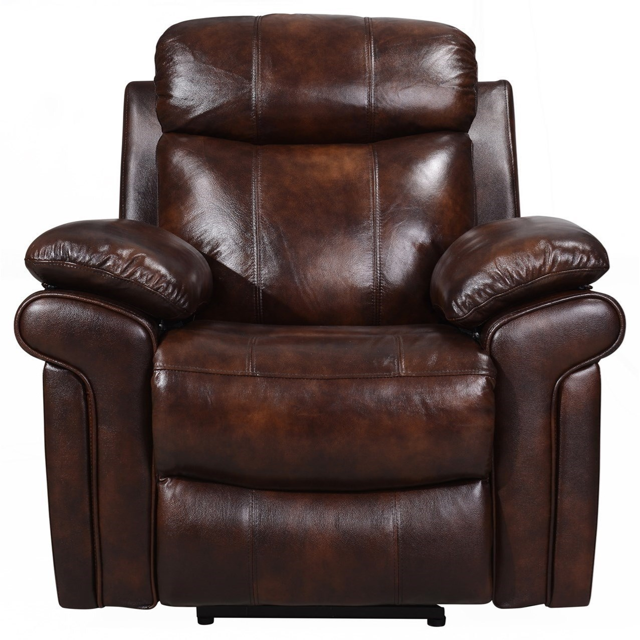 power reclining sofa made in usa jcpenney purple sofas joplin leather recliner belfort furniture three way recliners