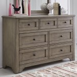 Legacy Classic Kids Farm House Modern Farmhouse 7 Drawer Dresser Wayside Furniture Dressers