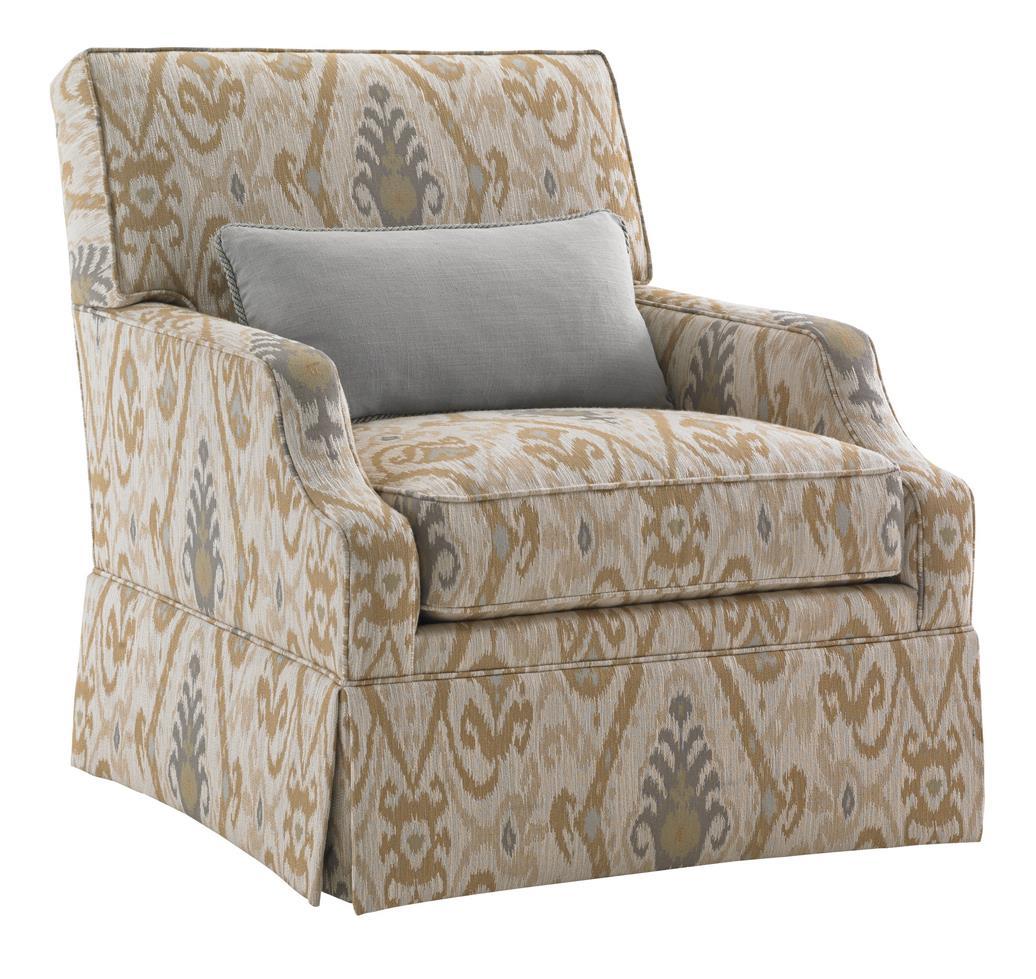 kendrick sleeper chair and a half recliner massage lexington kensington place 7108 11sw transitional courtney skirted placecourtney swivel