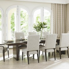 Lexington Dining Chairs Chair Covers With Pink Bows Laurel Canyon Nine Piece Set San Lorenzo Table Canyon9
