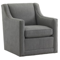 Upholstered Chair With Nailhead Trim Steel Design Image Lexington Upholstery 7620 11sw Barrier Swivel