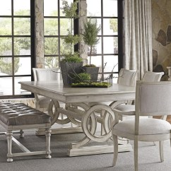 Lexington Dining Chairs Kids Plastic Table And Oyster Bay Six Piece Set With Montauk Bay6 Pc Bench