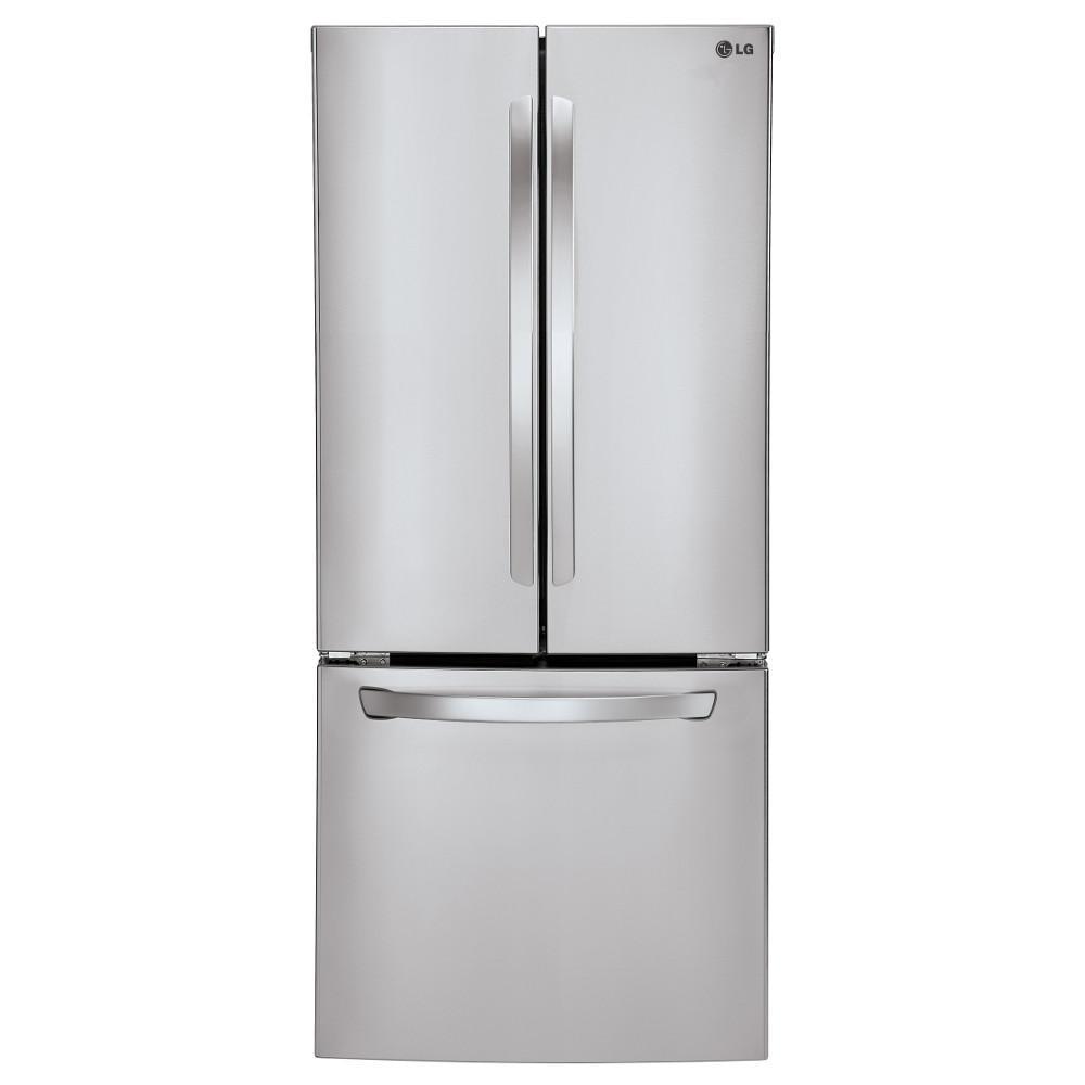 bottom freezer refrigerators 22 cu ft large capacity refrigerator