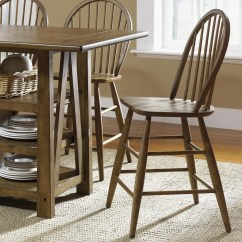 Counter Height Chairs With Back Wrought Iron Swivel Patio Farmhouse Windsor Chair Rotmans Bar Stools Liberty Furniture