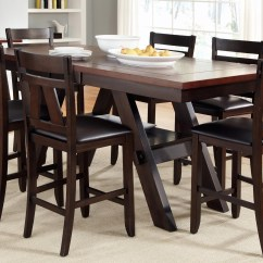 Chair Height Stools Retro Tables And Chairs Vendor 5349 Lawson 116 Cd 7gts 7 Piece Trestle Gathering Table With Lawsongathering Counter