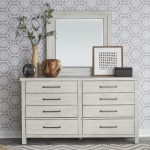 Liberty Furniture Modern Farmhouse Contemporary Dresser Mirror Superstore Dresser Mirrors
