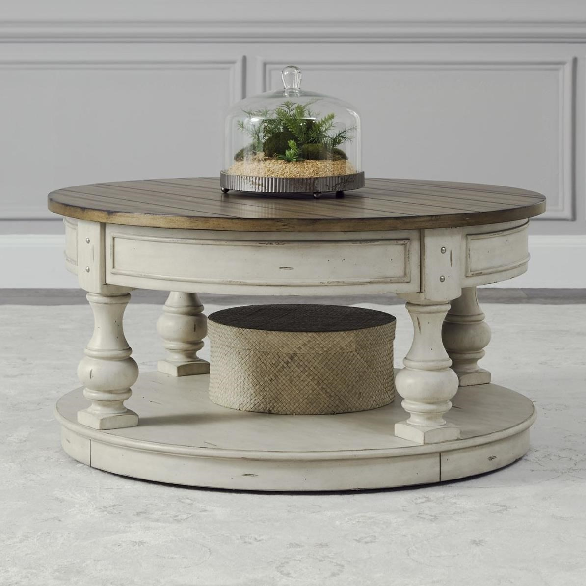 morgan creek round cocktail table