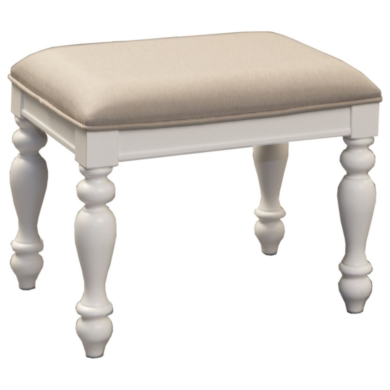 Vanity Chairs Liberty Furniture Summer House 607 Br99 Cottage Style Vanity Stool