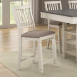Lifestyle Crafton Counter Height Table With 4 Stools And Bench Royal Furniture Table Chair Set With Bench