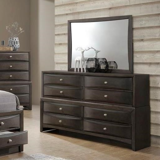 todd gray dresser and mirror