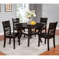 Four Chairs Furniture Rattan Arm Chair Lifestyle Linking Ring Transitional Dining Table And Ringdining