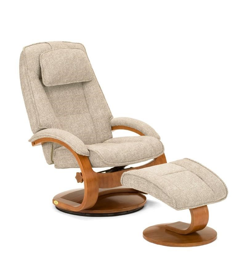 Mac Motion Chairs Oslo Collection Bergen Reclining Chair And Ottoman With Hardwood Frame By Mac Motion Chairs At Rife S Home Furniture