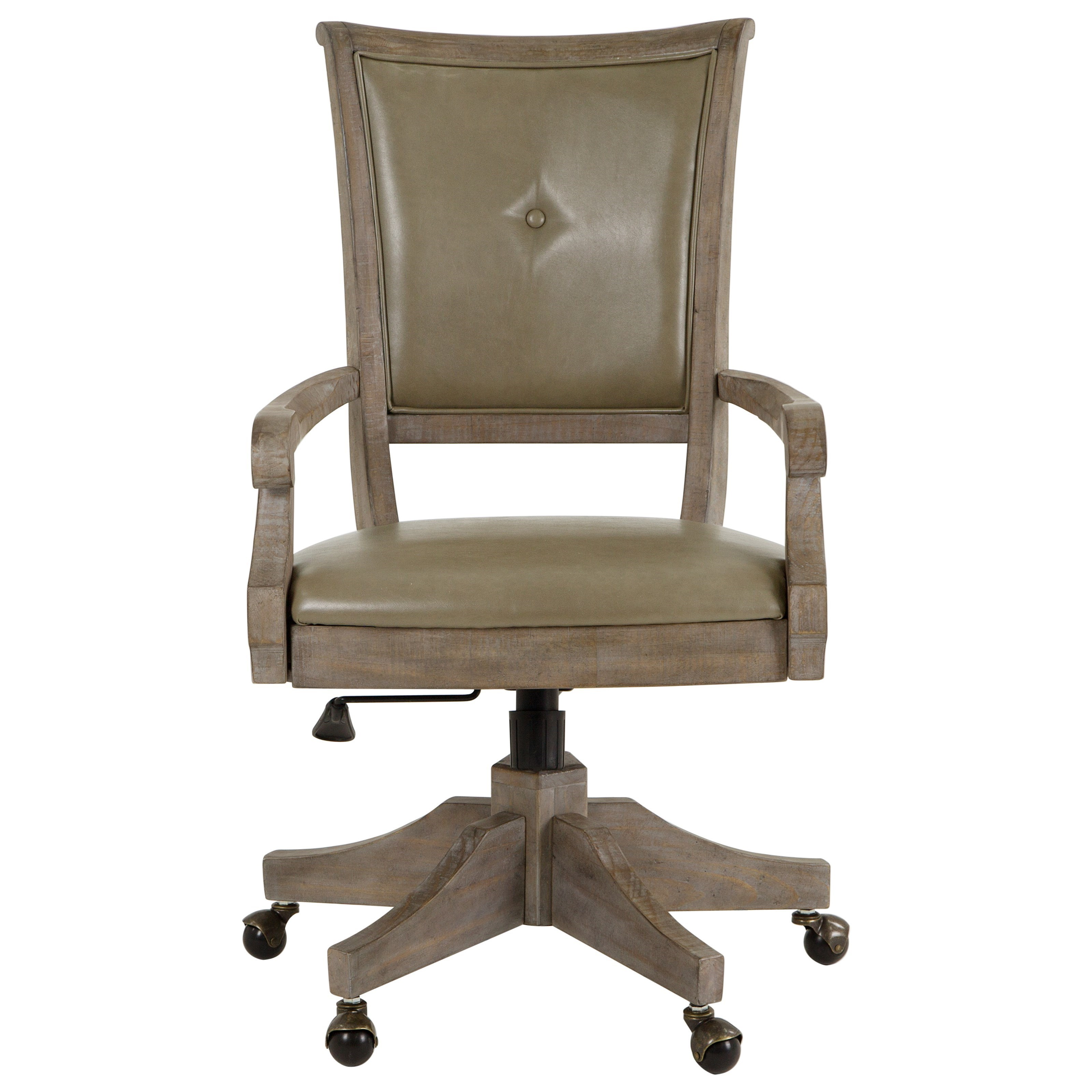Upholstered Swivel Chairs Lancaster Rustic Upholstered Swivel Chair By Magnussen Home At Reeds Furniture