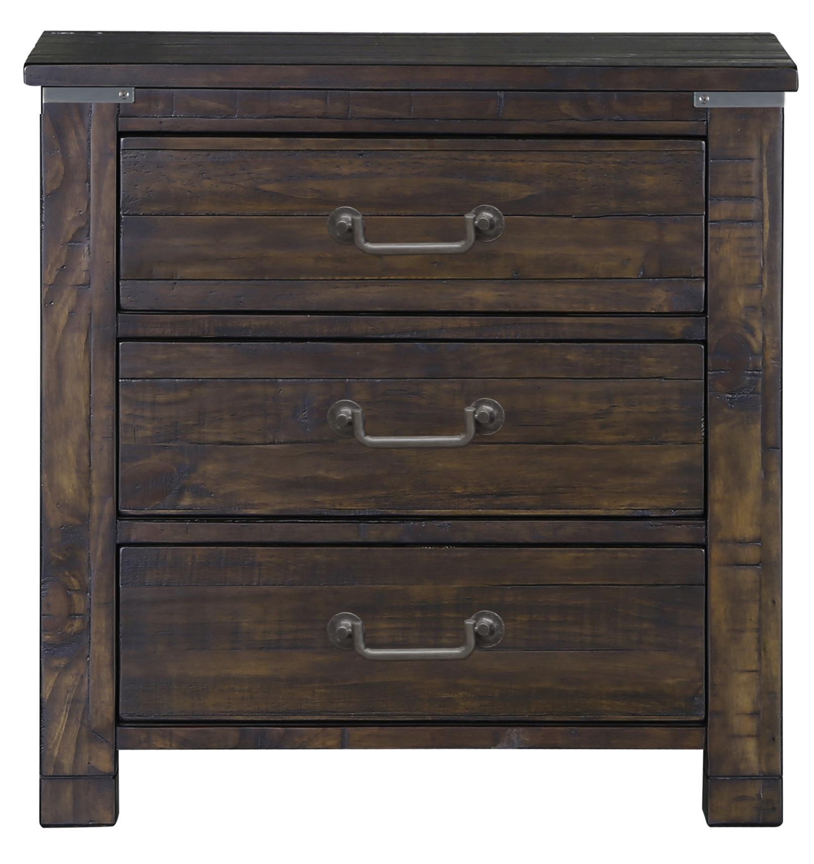 Pine Hill Drawer Nightstand