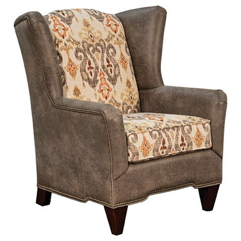 traditional wingback chair reclining glider rocking nursery and footstool marshfield preston transitional upholstered