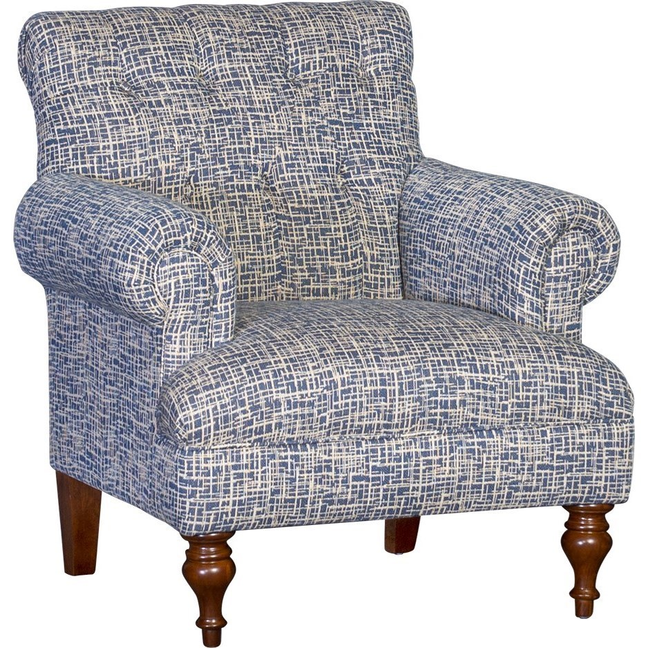At Home Chairs Mayo 3419 Tufted Back Chair Moore S Home Furnishings