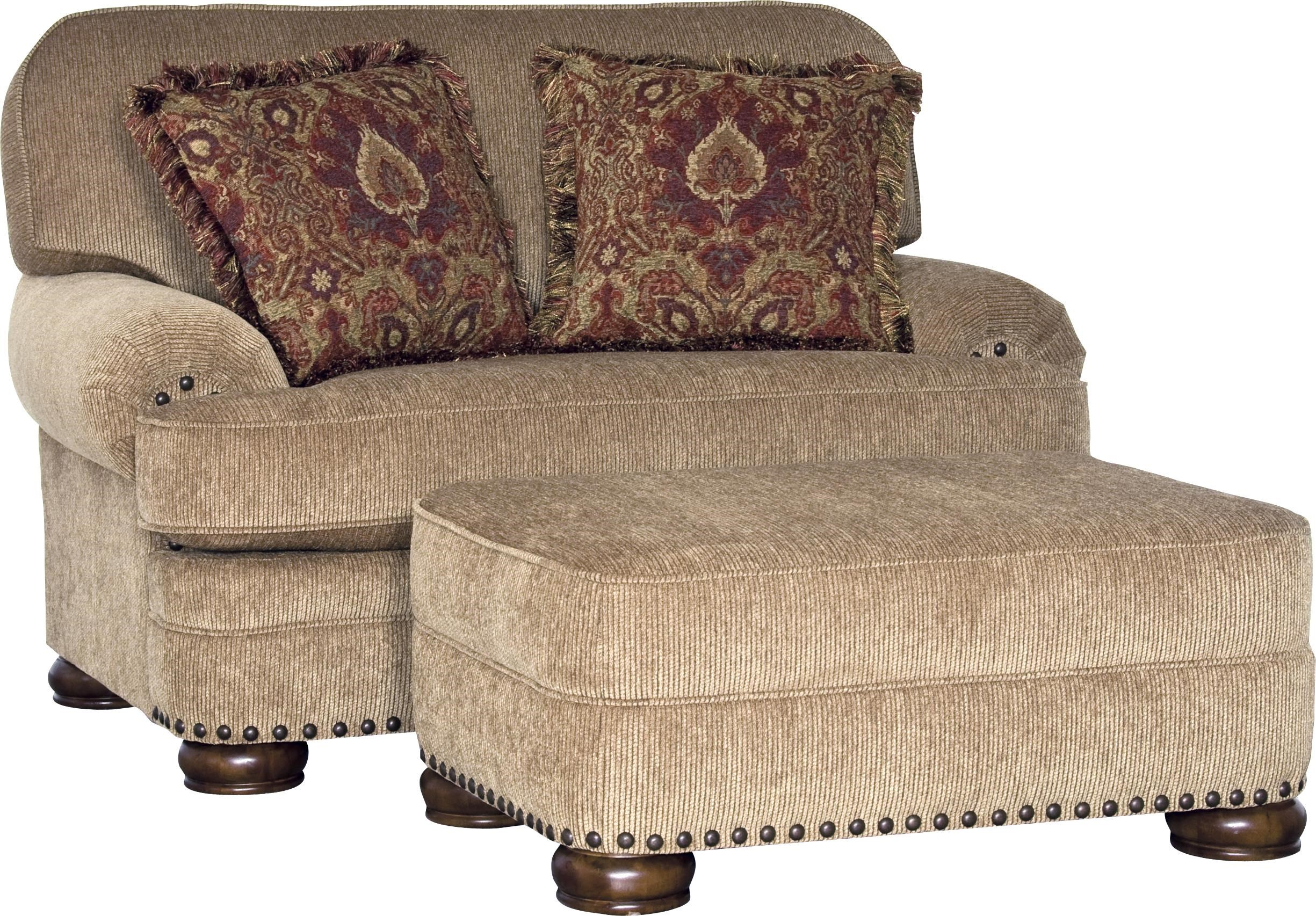 oversized upholstered chair healthy back office chairs mayo 3620 traditional howell furniture
