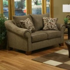 Rialto Sofa Bed Tivoli Table Pottery Barn Michael Nicholas Loveseat With Rolled Arms And Saber Feet By