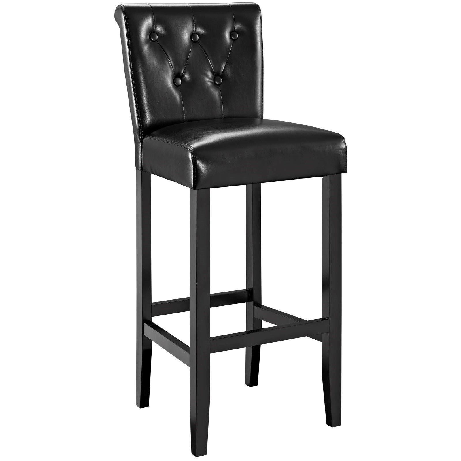 Upholstered Bar Chairs Tender Upholstered Bar Stool With Button Tufting By Modway At Value City Furniture