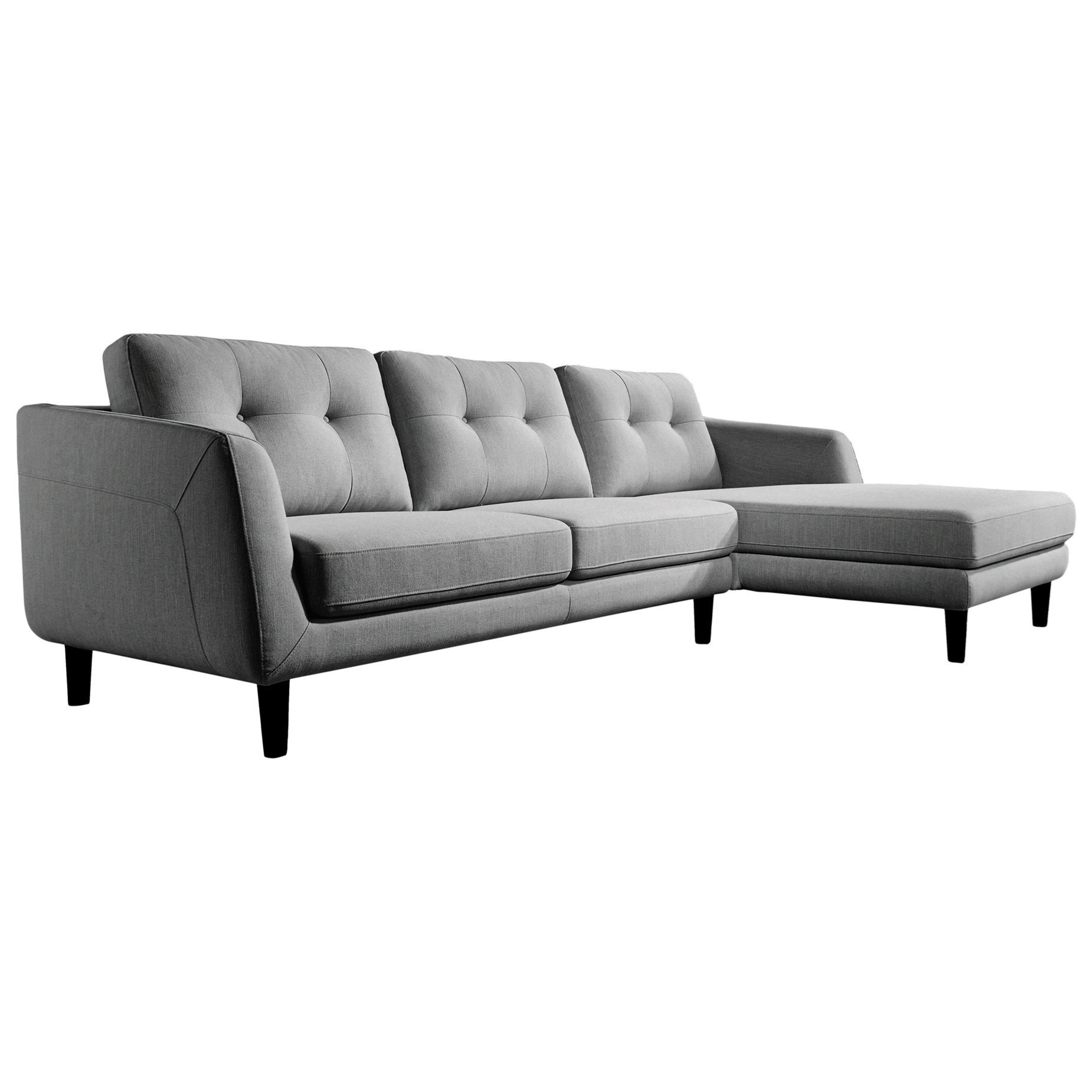 corey sectional sofa with right chaise
