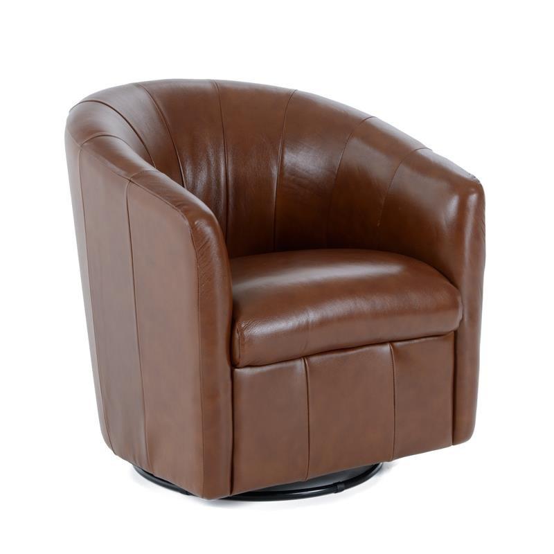 natuzzi swivel chair high tray cover editions a835 066 contemporary barrel natuzziswivel
