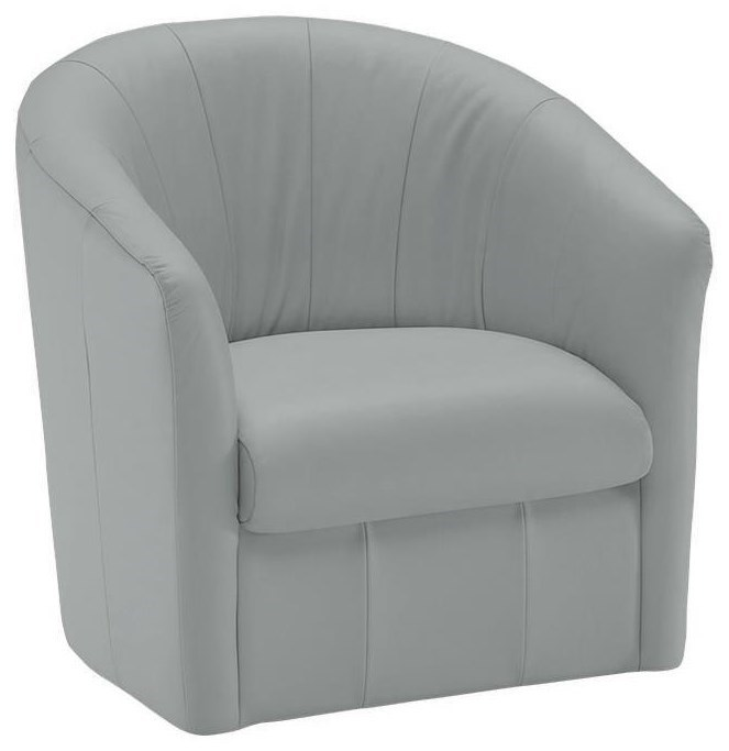 barrel swivel chairs upholstered bulk chair covers for sale natuzzi editions a835 066 contemporary