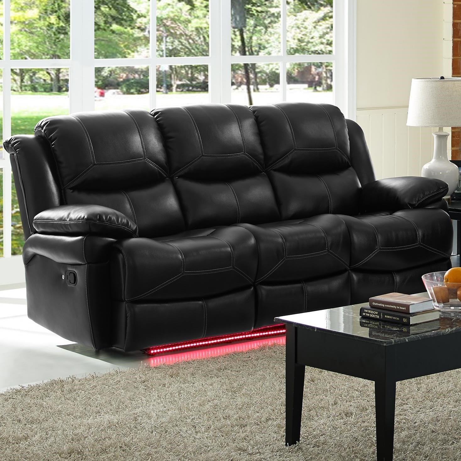 living room reclining sofas apartment decorating ideas new classic flynn 22 2177 30p contemporary power sofa with pillow arms dunk bright furniture