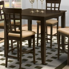 Pub Kitchen Table Store Com New Classic Style 19 Square Counter Height Boulevard Home Furnishings Tables