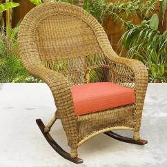 Wicker Rocking Chairs Pvc Chair Mats For Carpet Northcape International Charleston High Back Rocker Becker Charlestonhigh