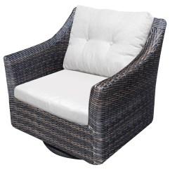 Outdoor Swivel Rocker Chair Swing Cushion Covers Northcape International San Marino Nc6516 Sr Cush6510 C Woven Marinooutdoor