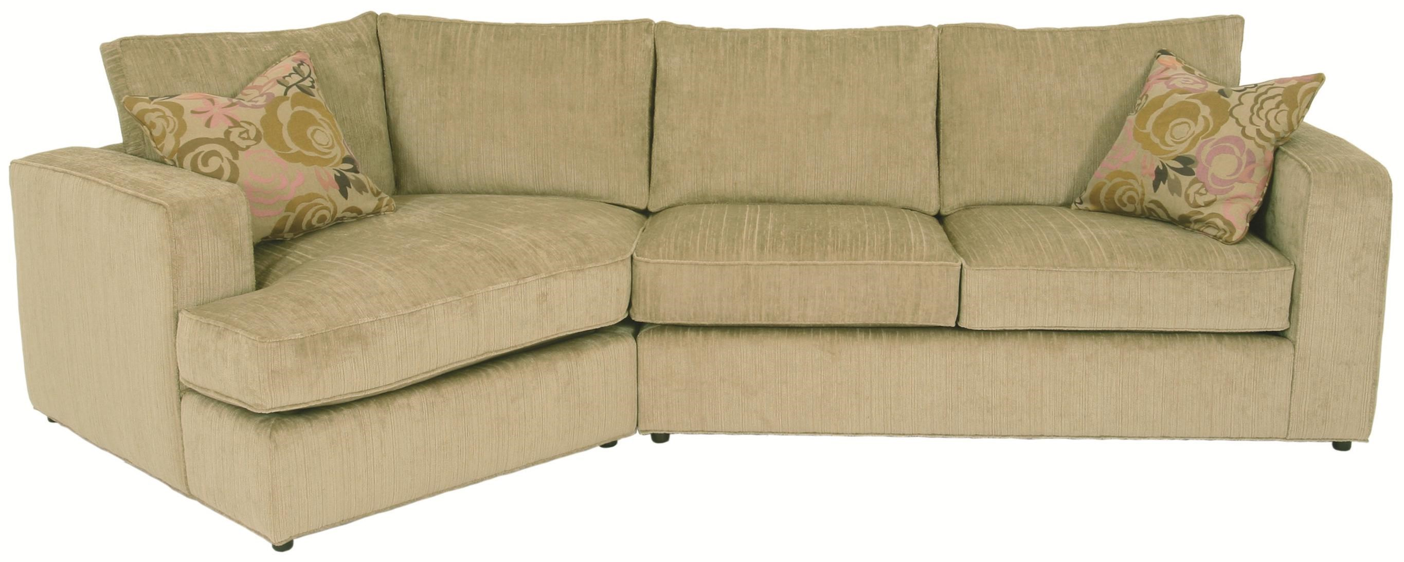 norwalk milford sectional sofa with