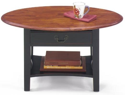 1900 international accents petite oval cocktail table